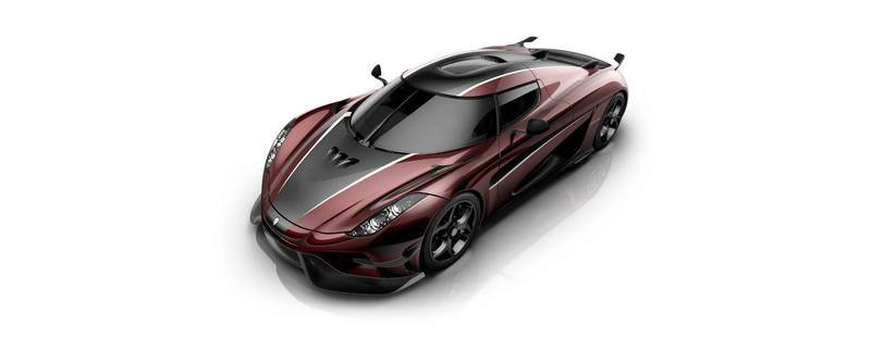Koenigsegg Regera Gets Another Shot Of Red And Black High Resolution Exterior - image 705227