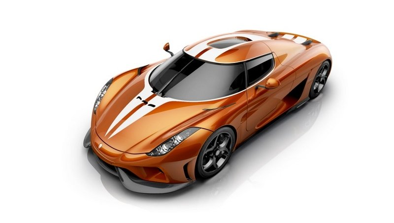 Koenigsegg's Design Chief Dresses Up Regera In A Popsicle