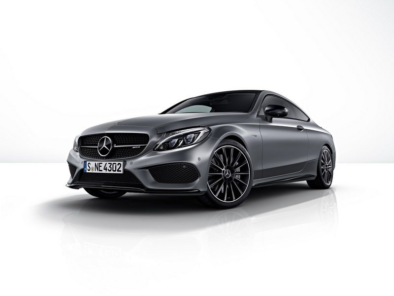 2017 Mercedes-AMG C 43 4MATIC Coupé and Cabriolet Night Edition