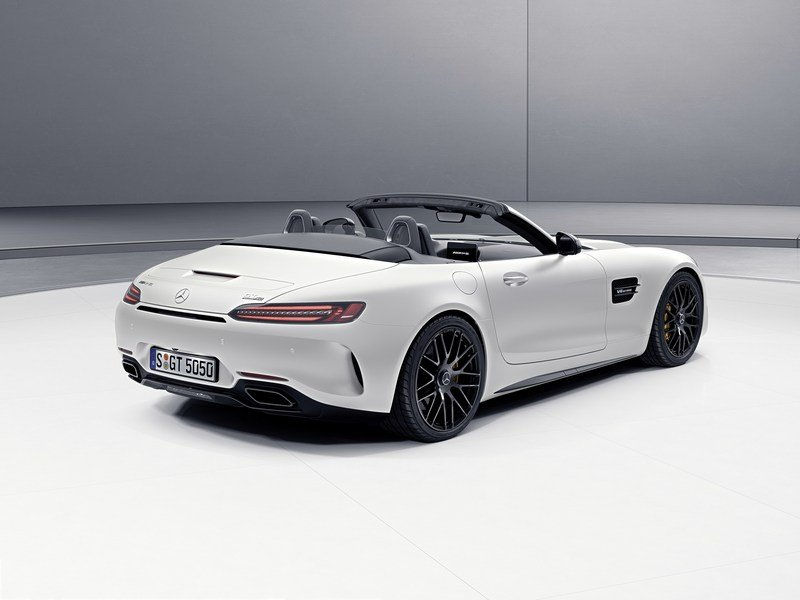 2017 Mercedes-AMG GT C Roadster Edition 50 High Resolution Exterior - image 706428