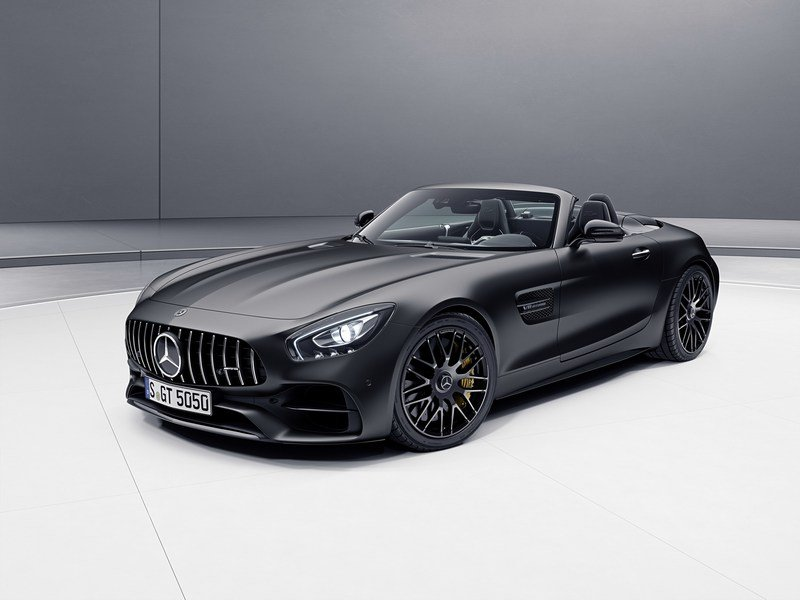 2017 Mercedes-AMG GT C Roadster Edition 50 High Resolution Exterior - image 706430