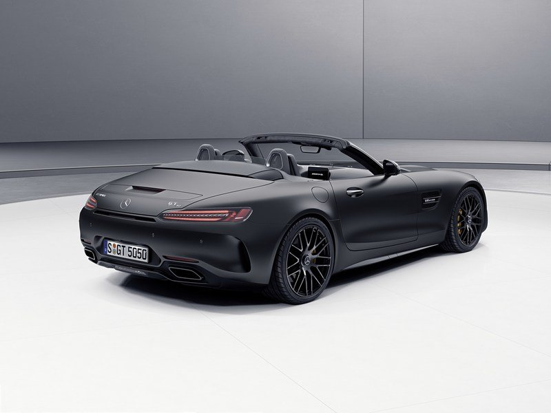2017 Mercedes-AMG GT C Roadster Edition 50 High Resolution Exterior - image 706431
