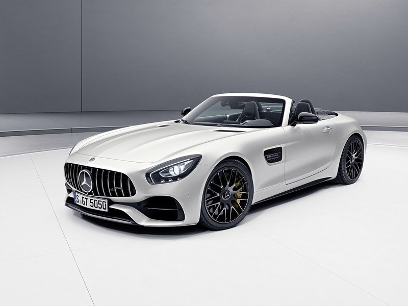 2017 Mercedes-AMG GT C Roadster Edition 50 High Resolution Exterior - image 706427