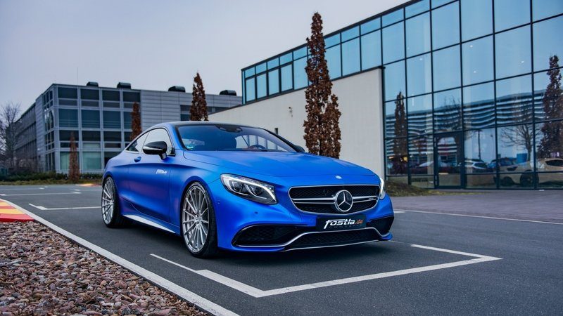 2017 Mercedes-AMG S63 Coupe S By Fostla