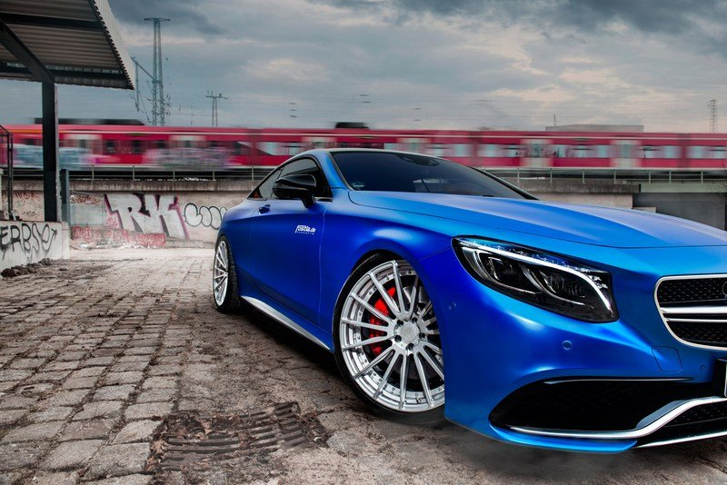 2017 Mercedes-AMG S63 Coupe S By Fostla High Resolution Exterior - image 706707