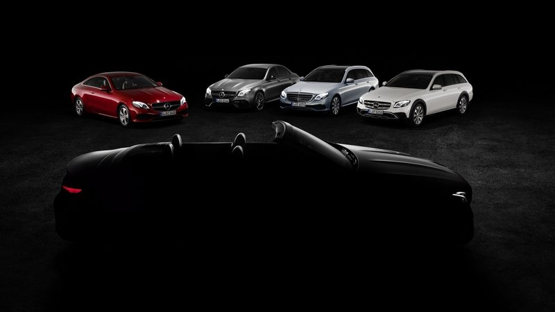 Mercedes-Benz Teases E-Class Cabrio; Confirms New AMG Concept For Geneva