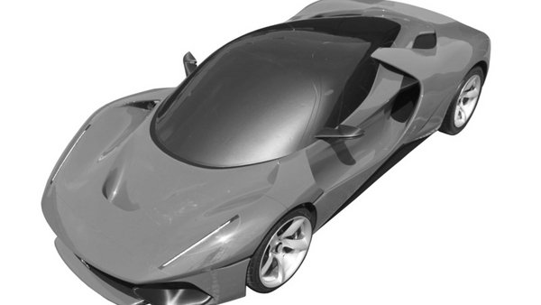 new ferrari patents point to an upcoming supercar - DOC706218