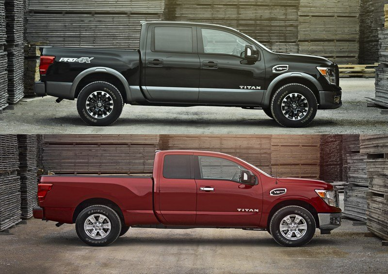 Nissan Titan And Titan XD Receive New King Cab Body Style