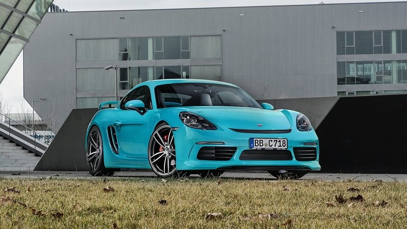2017 Porsche 718 Cayman by TechArt