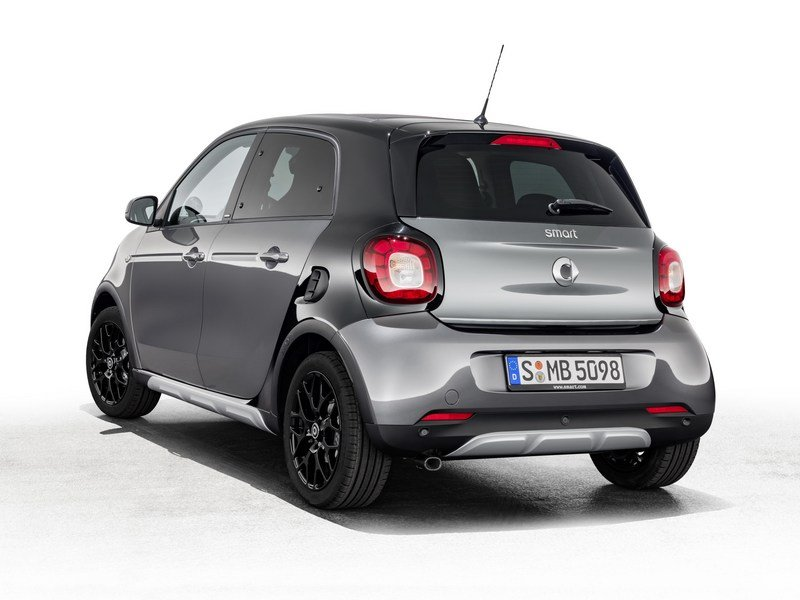 2017 Smart ForFour Crosstown Edition