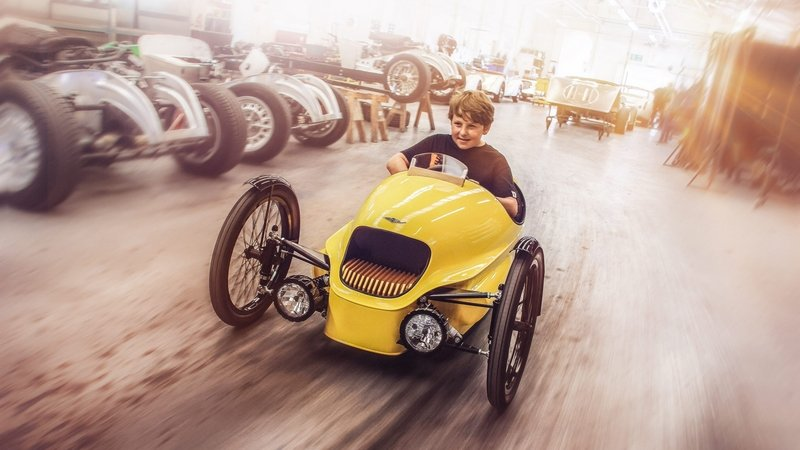 Start Your Kids Early With Morgan's Kid-Sized Three-Wheeler