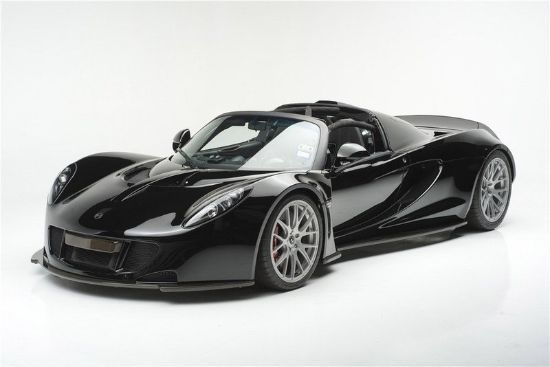 Steven Tyler's Hennessey Venom GT Spyder Fetches A Tidy Sum Auction - image 704102