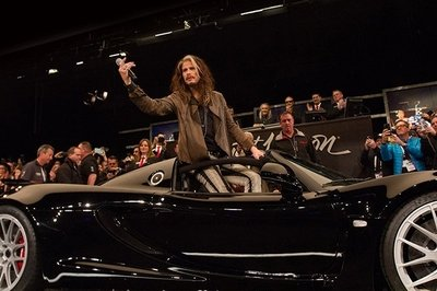Steven Tyler's Hennessey Venom GT Spyder Fetches A Tidy Sum Auction