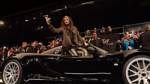 steven tyler 039 s hennessey venom gt spyder fetches a tidy sum auction - DOC704103