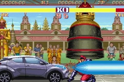 Toyota's Street Fighter-Themed Commercial For the C-HR Is The Ad The Super Bowl Should Have Had