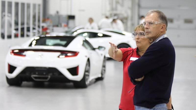 You Can Now Watch Acura Build Your NSX Supercar In Front Of Your Eyes