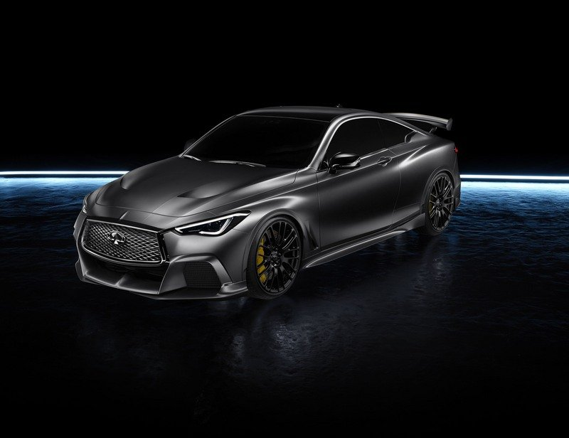 Infiniti S F1 Bred And Hybridized Q60 Black S Will Come To Paris In
