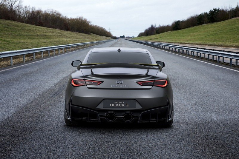 Infiniti's F1-Bred and hybridized Q60 Black S Will Come to Paris in Production-Ready From