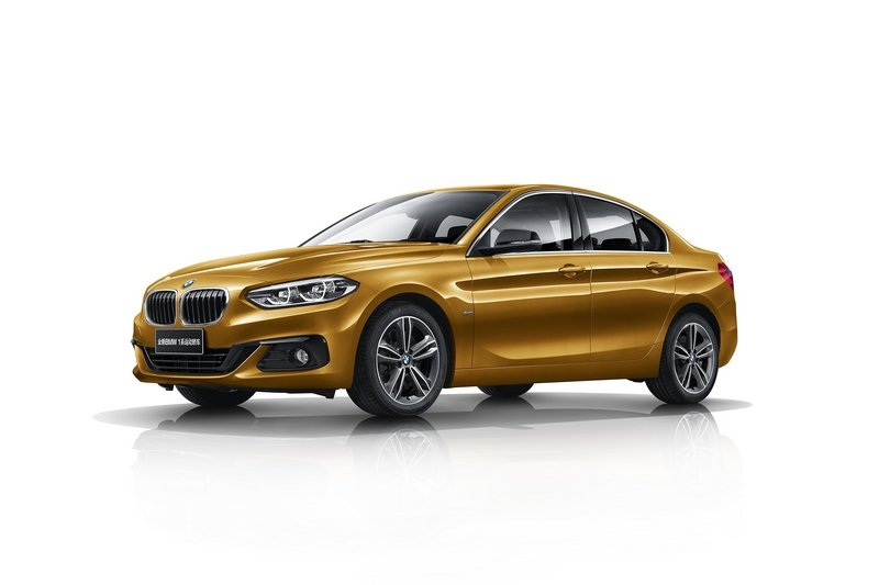 2017 BMW 1 Series Sedan High Resolution Exterior - image 707261
