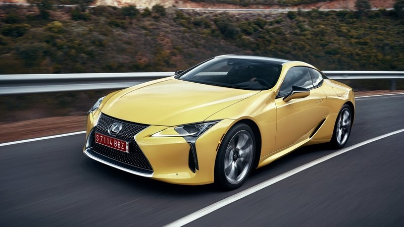 2018 Lexus LC 500 High Resolution Exterior - image 710825