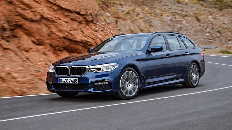 2018 BMW 5 Series Touring High Resolution Exterior - image 709551