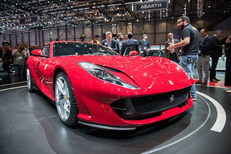 2018 Ferrari 812 Superfast High Resolution Exterior AutoShow - image 709181