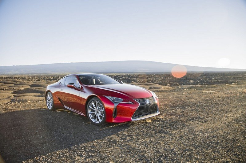Wallpaper of the Day: 2018 Lexus LC500