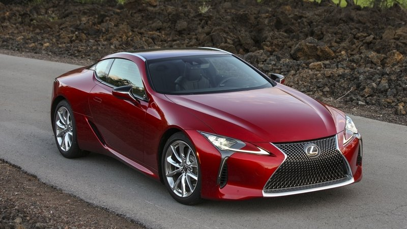 2018 Lexus LC 500 High Resolution Exterior - image 710877