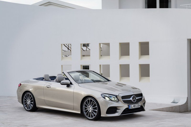 2018 Mercedes-Benz E-Class Cabriolet High Resolution Exterior - image 707544