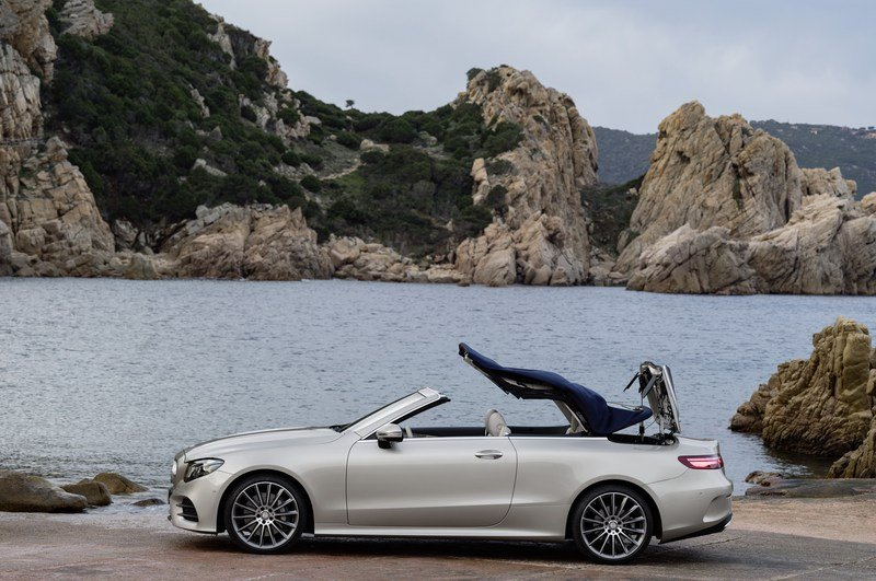 Wallpaper of the Day: 2018 Mercedes E-Class Cabriolet