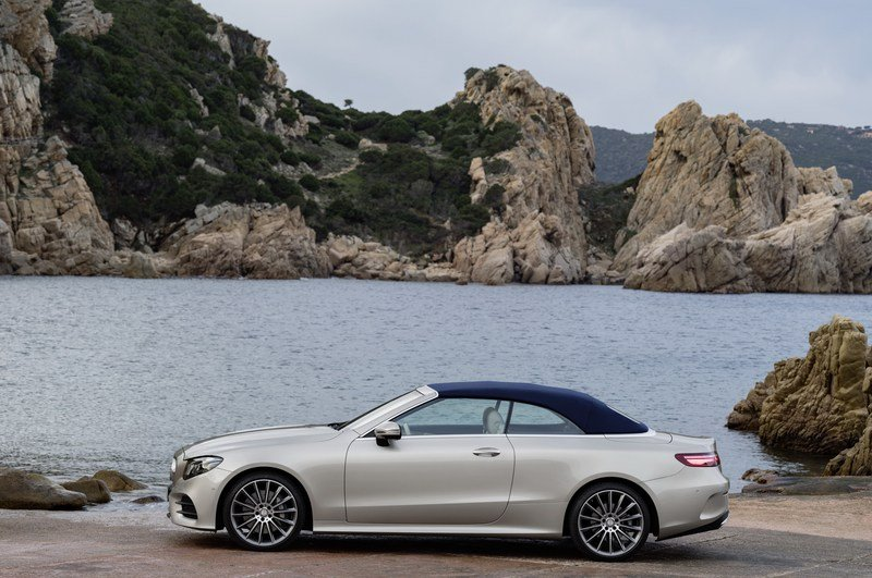 2018 Mercedes-Benz E-Class Cabriolet High Resolution Exterior - image 707555