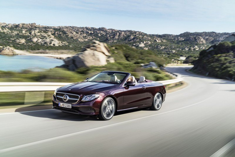 2018 Mercedes-Benz E-Class Cabriolet High Resolution Exterior - image 707568
