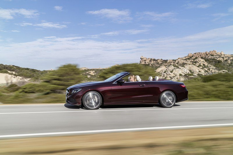 2018 Mercedes-Benz E-Class Cabriolet High Resolution Exterior - image 707569