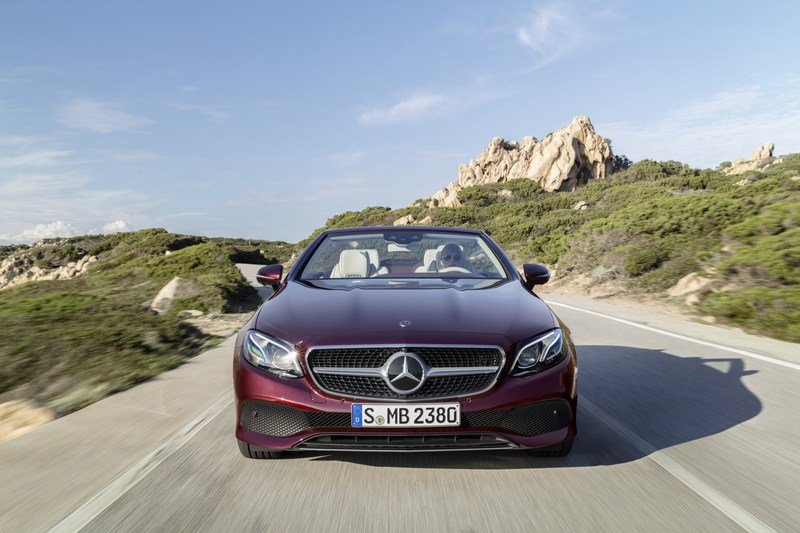 2018 Mercedes-Benz E-Class Cabriolet High Resolution Exterior - image 707571