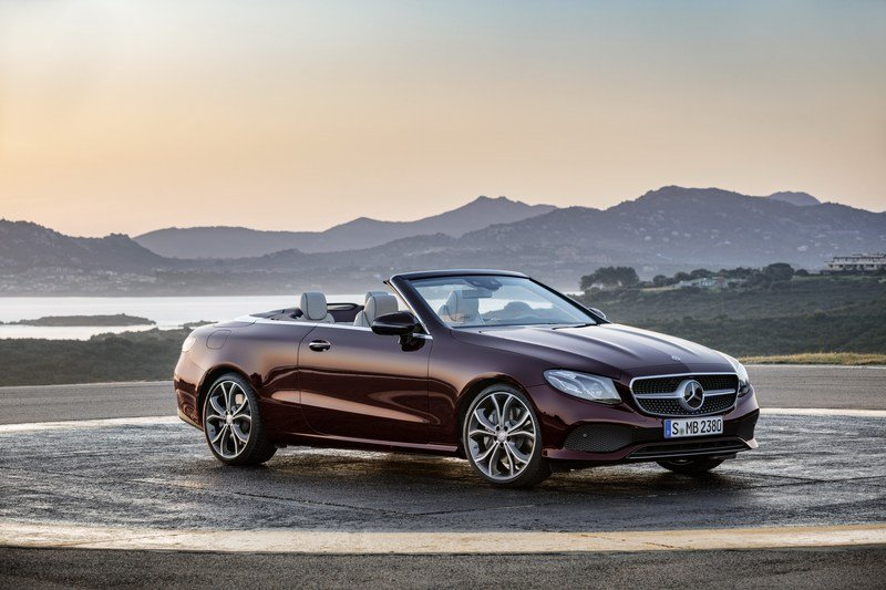 2018 Mercedes-Benz E-Class Cabriolet High Resolution Exterior - image 707577
