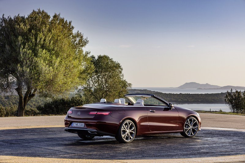 2018 Mercedes-Benz E-Class Cabriolet High Resolution Exterior - image 707580
