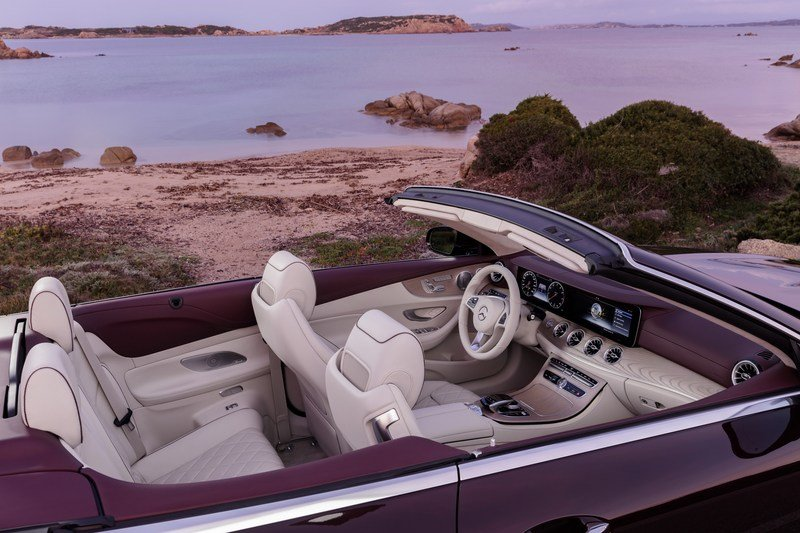 2018 Mercedes-Benz E-Class Cabriolet High Resolution Interior - image 707584
