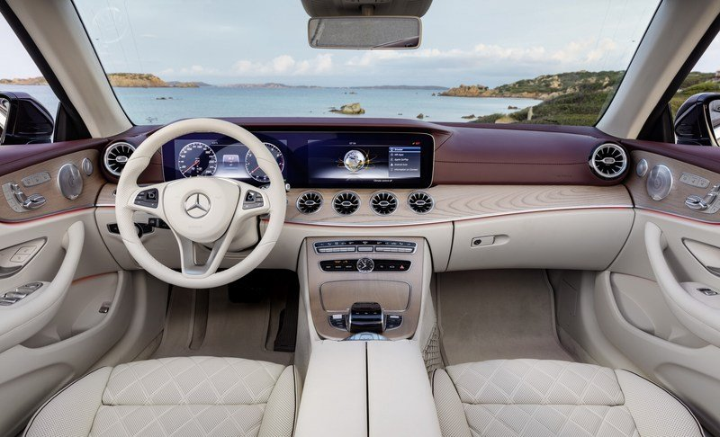 2018 Mercedes-Benz E-Class Cabriolet High Resolution Interior - image 707586