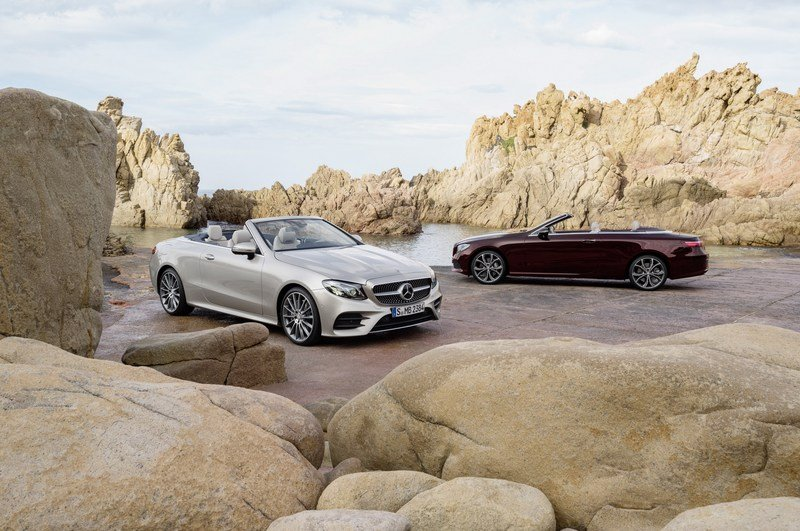 2018 Mercedes-Benz E-Class Cabriolet High Resolution Exterior - image 707589