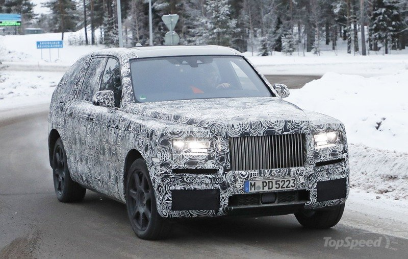 Rolls-Royce Will Debut the Cullinan on May 10th