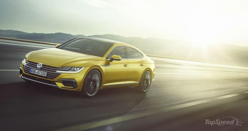 Volkswagen Arteon Is Proof that Volkswagen Learned Something From the CC Fiasco High Resolution Exterior - image 707941