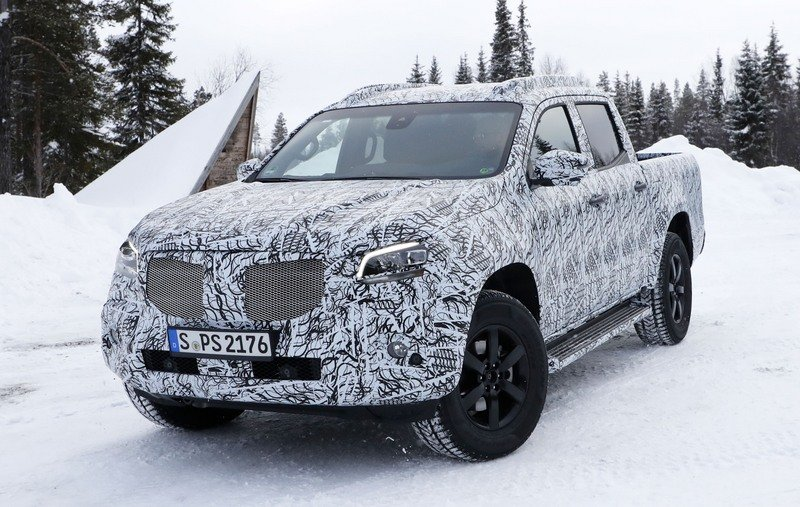 2020 Mercedes-Benz Pickup Truck: EXCLUSIVE! - Picture ...