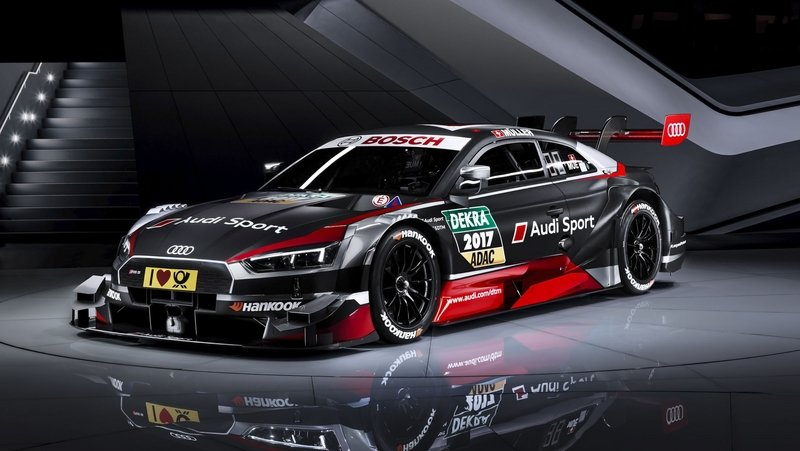 The Audi RS 5 DTM Looks Ready To Take On Any Competition