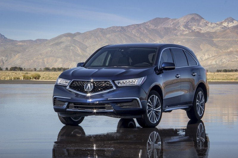 2017 Acura MDX Sport Hybrid High Resolution Exterior - image 710616