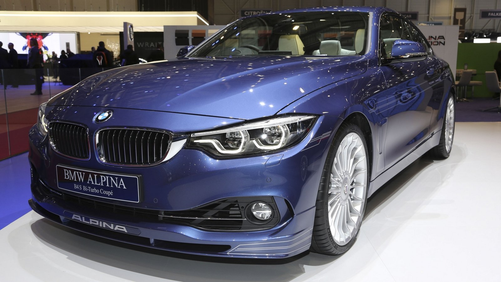 2017 Alpina B4 S Biturbo Top Speed