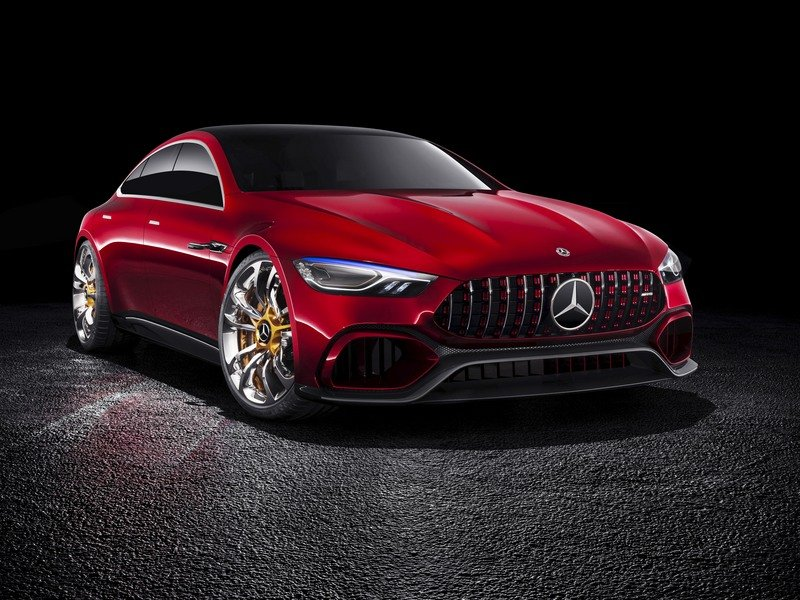 2017 Mercedes-AMG GT Concept High Resolution Exterior - image 708206
