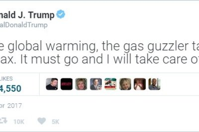 President Trump wants to Remove Gas Guzzler Tax