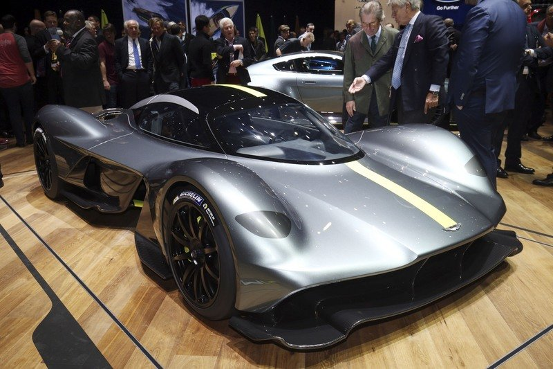 Aston Martin AM-RB 001 Got Baptized By Gods