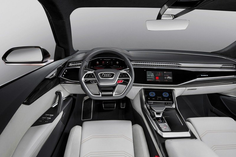 The Audi Q8 Sport Is More Potent and Makes the Q8 e-Tron Easy to Forget High Resolution Interior - image 708601