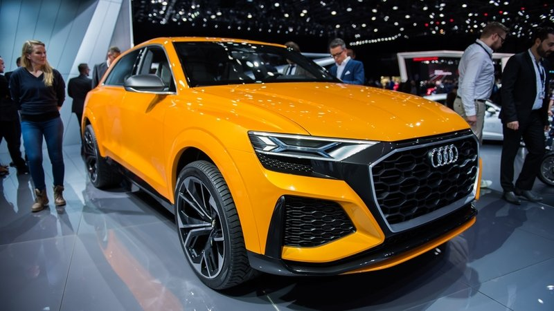2017 Audi Q8 Sport Concept Top Speed